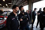 January 30-31, 2021. IMSA Weathertech Series. Rolex Daytona 24h:  #48 Ally Cadillac Racing, Cadillac DPi, Kamui Kobayashi, Mike Rockenfeller