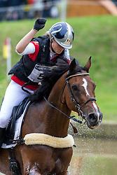 Lara De Liedekerke, (BEL), Ducati van den Overdam - Eventing Cross Country test - Alltech FEI World Equestrian Games™ 2014 - Normandy, France.<br /> © Hippo Foto Team - Leanjo de Koster<br /> 30/08/14