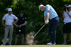 May 25, 2018 - Forth Worth, TX, U.S. - FORT WORTH, TX - MAY 25: Justin Rose of England hits his tee shot on #8 during the second round of the Fort Worth Invitational on May 25, 2018 at Colonial Country Club in Fort Worth, TX. (Photo by Andrew Dieb/Icon Sportswire) (Credit Image: © Andrew Dieb/Icon SMI via ZUMA Press)