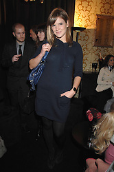 KATE SUMNER daughter of singer Sting in the Moet & Chandon Room at British Fashion Week at the Natural History Museum on 15th February 2007.<br /><br />NON EXCLUSIVE - WORLD RIGHTS