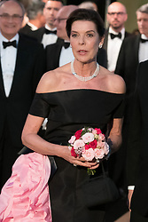 Princess Caroline of Hanover attends the Rose Ball 2019 at Sporting in Monaco, Monaco on March 30, 2019. Photo by Jacques Witt-Pool/ABACAPRESS.COM