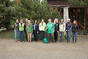 Women farmers and breeders attending the Novic Field Day event in Corvallis, Oregon.