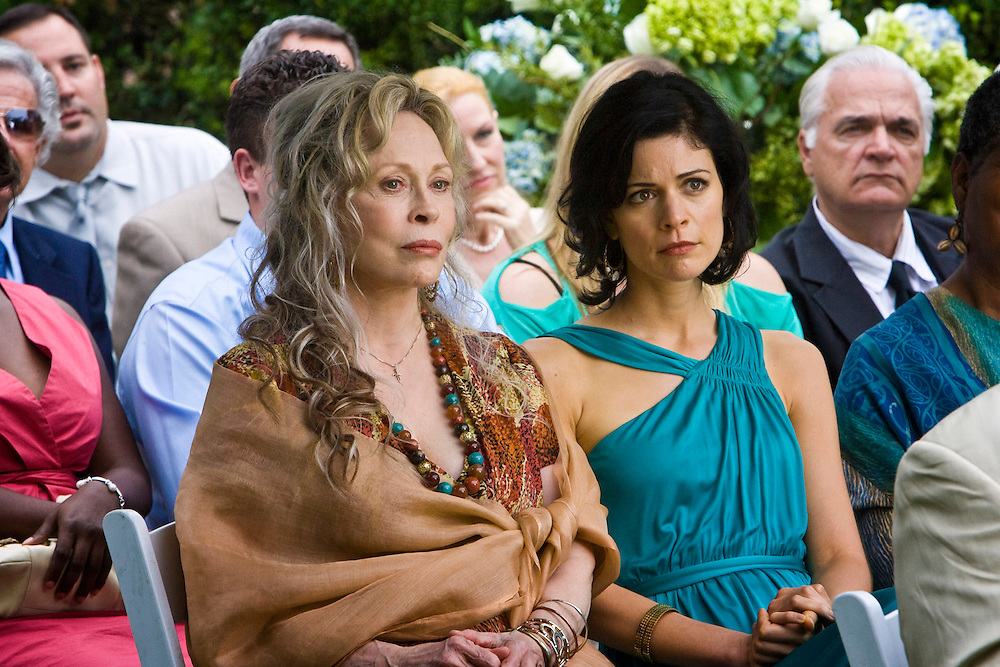 Faye Dunaway and Lauren Stamile in Lifetime Television's movie of Nora Robert's novel 'Midnight Bayou.'