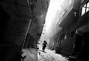 Manchiet Nasr. Early morning