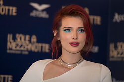 "Actress and singer Bella Thorne attends the photocall of the movie ""Midnight sun"" in Rome. 27 Feb 2018 Pictured: Bella Thorne. Photo credit: MEGA TheMegaAgency.com +1 888 505 6342"