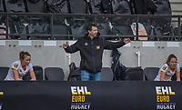 AMSTELVEEN - Coach Raoul Ehren (DenBosch) tijdens de halve finale wedstrijd dames EURO HOCKEY LEAGUE (EHL),  Amsterdam-HC Den Bosch. (1-1) Den Bosch wint shoot outs en plaats zich voor de finale.  COPYRIGHT  KOEN SUYK