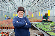 The prisoner officer who runs greenhouses at HMP Downview