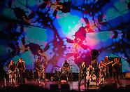 globalFEST at Skirball -  Joshua Light Show - Debo Band - Forro in the Dark