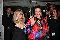11/3/2010 Terry Moore and Jane Russell at the Hollywood Walk of Fame's 50th anniversary party.