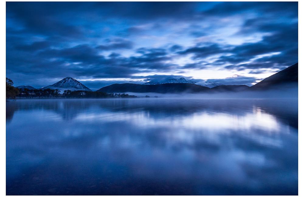 Lake Pearson, Craigieburn Forest Park, Cantuerbury.