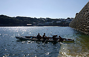 St Peter's Port, Guernsey, CHANNEL ISLANDS,  evening practice at the 2006 FISA Coastal Rowing  Rowing  Challenge,  31/08/2006.  Photo  Peter Spurrier, © Intersport Images,  Tel +44 [0] 7973 819 551,  email images@intersport-images.com