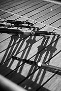 Henley-On-Thames, Berkshire, UK., Wednesday,  19/05/2021,  Oars, Blade Resting, Leander Club, [Mandatory Credit © Peter Spurrier/Intersport Images],
