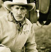 A cowboy in Montana, USA