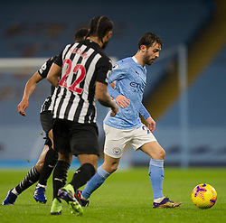 Bernardo Silva of Manchester City (R) in action - Mandatory by-line: Jack Phillips/JMP - 26/12/2020 - FOOTBALL - Etihad Stadium - Manchester, England - Manchester City v Newcastle United - English Premier League