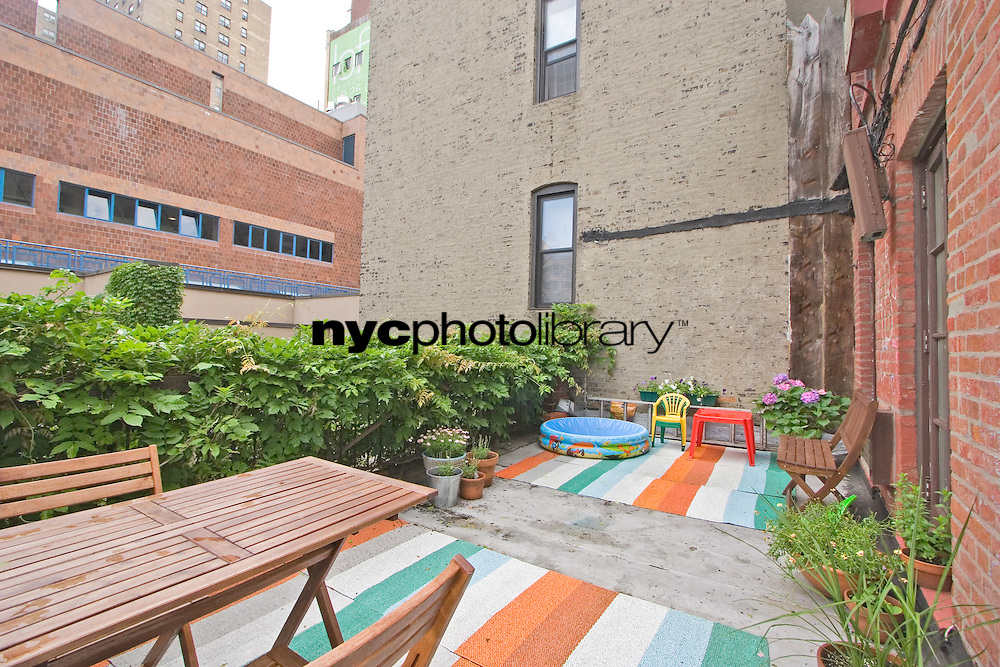 Roof Deck at 437 West 24th St