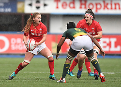 Wales Manon Johnes<br /> Wales Women v South Africa Women<br /> Autumn International<br /> <br /> Photographer Mike Jones / Replay Images<br /> Cardiff Arms Park<br /> 10th November 2018<br /> <br /> World Copyright © 2018 Replay Images. All rights reserved. info@replayimages.co.uk - http://replayimages.co.uk