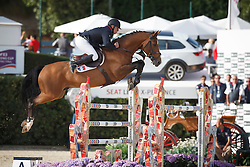 Bost Roger Yves, (FRA), Qoud Coeur de la Loge <br /> First Round<br /> Furusiyya FEI Nations Cup Jumping Final - Barcelona 2015<br /> © Dirk Caremans<br /> 24/09/15