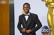 """88th Academy Awards press room.<br /> Abraham Attah, """"Beasts of No Nation"""" actor."""