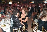 CELESTE WAKEFIELD; JIMMY LAHOUD, Evgeny Lebedev and Graydon Carter hosted the Raisa Gorbachev charity Foundation Gala, Stud House, Hampton Court, London. 22 September 2011. <br /> <br />  , -DO NOT ARCHIVE-© Copyright Photograph by Dafydd Jones. 248 Clapham Rd. London SW9 0PZ. Tel 0207 820 0771. www.dafjones.com.
