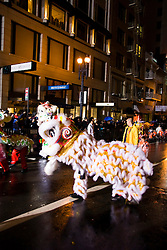 California: San Francisco. Dragon in Chinese New Year's Parade. Photo copyright Lee Foster. Photo # 29-casanf77707