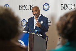 Steve Harvey was the celebrity speaker for the 9th Annual Hillsborough Community College - Black, Brown & College Bound Summit, at the Marriott Waterside Hotel, in Tampa, FL - Feb.19-21, 2015. (Photo © Jock Fistick)