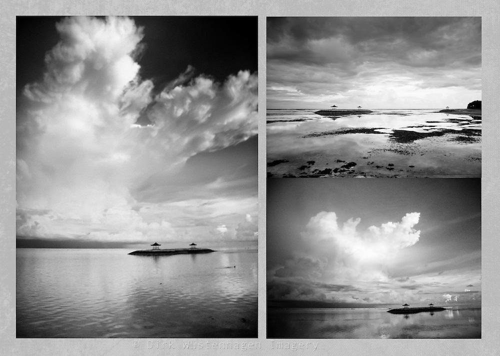 Series of pics I took with y broken cam. <br /> Sanur, Bali, Indonesia<br /> Prints: http://society6.com/DirkWuestenhagenImagery/Bali-x-3_Print