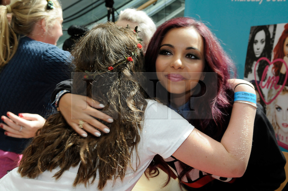 © Licensed to London News Pictures. 30/08/2012.Little Mix book signing at Bluewater shopping complex in Kent.. X-Factor star  Jade Thirlwal.Photo credit : Grant Falvey/LNP