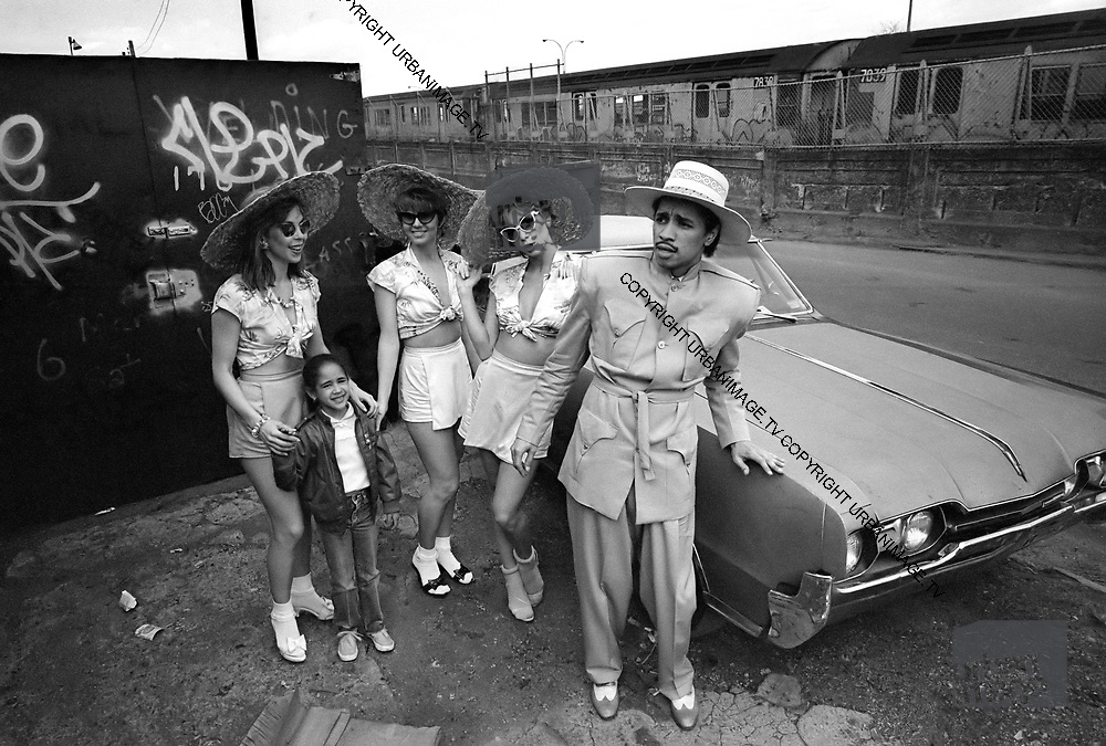 Kid Creole and the Coconuts photosession NY 1982