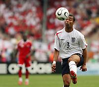 Photo: Chris Ratcliffe.<br /> England v Trinidad & Tobago. Group B, FIFA World Cup 2006. 15/06/2006.<br /> Ashley Cole.