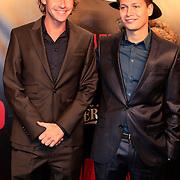 NLD/Amsterdam/20130114 - Premiere Django Unchained, Ewout genemans en ???.