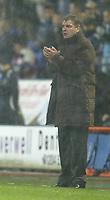 Photo: Aidan Ellis.<br /> Bolton Wanderers v Zenit St Petersburg. UEFA Cup. <br /> 03/11/2005.<br /> Bolton boss Sam Allardyce applauds his team