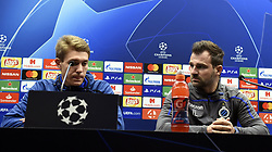 December 10, 2018 - Bruges, Belgique - BRUGGE, DECEMBER 10 : Ethan Horvath goalkeeper of Club Brugge and Ivan Leko head coach of Club Brugge pictured during press conference the day before the UEFA Champions League group A match between Club Brugge KV and Atletico Madrid on December 10, 2018 in Brugge, 10/12/2018 (Credit Image: © Panoramic via ZUMA Press)