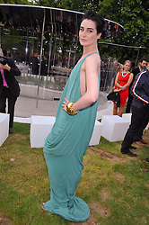ERIN O'CONNOR at the annual Serpentine Gallery Summer Party sponsored by Canvas TV  the new global arts TV network, held at the Serpentine Gallery, Kensington Gardens, London on 9th July 2009.