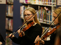 12/12/19 BHS Orchestra @ Bridgeport Library