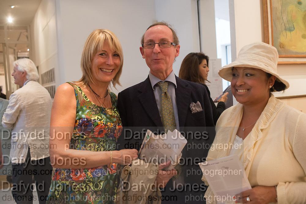 REBECCA HOSSACK; A.N. WILSON; SUSAN CONSTANTINA-ZAMAN, 20/21 British Art Fair. Celebrating its 25 Anniversary. The Royal College of Art . Kensington Gore. London. 12 September 2012.