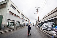 Skid Row Los Angeles