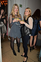Left to right, and JO SEYMOUR-TAYLOR at the Tatler Little Black Book Party held at Home House Private Member's Club, Portman Square, London supported by CARAT on 6th November 2014.