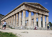 Temple of Concordia, Valle dei Templi,  Valley of the Temples, Agrigento, Sicily, Italy