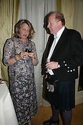 Catherine Snow and Randle White, The Royal Caledonian Ball 2007. Grosvenor House. 4 May 2007.  -DO NOT ARCHIVE-© Copyright Photograph by Dafydd Jones. 248 Clapham Rd. London SW9 0PZ. Tel 0207 820 0771. www.dafjones.com.