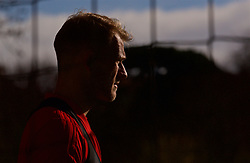CARDIFF, WALES - Wednesday, November 14, 2018: Wales' goalkeeper Adam Davies during a training session at the Vale Resort ahead of the UEFA Nations League Group Stage League B Group 4 match between Wales and Denmark. (Pic by David Rawcliffe/Propaganda)