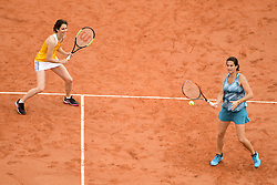 June 9, 2018 - Paris, France, France - Amelie Mauresmo (Fra) / Nathalie Dechy (Fra) - Finale Trophee des Legendes Femmes (Credit Image: © Panoramic via ZUMA Press)