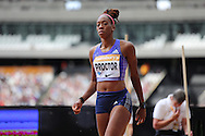 Shara Proctor during the Sainsbury's Anniversary Games at the Queen Elizabeth II Olympic Park, London, United Kingdom on 25 July 2015. Photo by Phil Duncan.