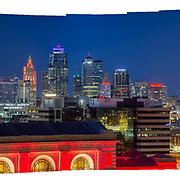 Kansas City Skyline for Sparks Marketing/T-Mobile