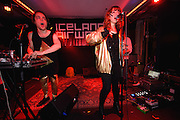 Photos of Byrta performing live at Húrra during Iceland Airwaves Music Festival 2014 in Reykjavik, Iceland. November 8, 2014. Copyright © 2014 Matthew Eisman. All Rights Reserved