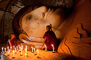 Shwe Thahaung temple, Bagan, Burma:  4,000 temples in 26 miles radius, these ancient temples rival Angkor Wat as one of the greatest architectural sites of the world.
