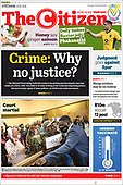 October 19, 2021 - AFRICA: Front-page: Today's Newspapers In Africa