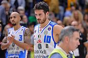 DESCRIZIONE : Beko Legabasket Serie A 2015- 2016 Dinamo Banco di Sardegna Sassari - Enel Brindisi<br /> GIOCATORE : Lorenzo D'Ercole<br /> CATEGORIA : Ritratto Delusione Postgame<br /> SQUADRA : Dinamo Banco di Sardegna Sassari<br /> EVENTO : Beko Legabasket Serie A 2015-2016<br /> GARA : Dinamo Banco di Sardegna Sassari - Enel Brindisi<br /> DATA : 18/10/2015<br /> SPORT : Pallacanestro <br /> AUTORE : Agenzia Ciamillo-Castoria/L.Canu