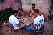Eight legged table in Gibara, Holguin, Cuba.