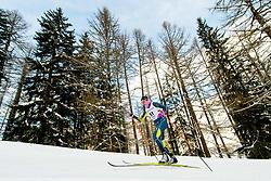 February 2, 2018 - Goms, SWITZERLAND - 180202 Katerina Paul of Australia competes in the women's 7,5/7,5 km skiathlon during the FIS U23 Cross-Country World Ski Championships on February 2, 2018 in Obergoms..Photo: Vegard Wivestad GrÂ¿tt / BILDBYRN / kod VG / 170095 (Credit Image: © Vegard Wivestad Gr¯Tt/Bildbyran via ZUMA Press)