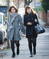 © Licensed to London News Pictures. 27/01/14 The Metropolitan Police Service (MPS) have stated there will be no further action by police against NIGELLA LAWSON in connection with drug use. FILE PICTURE DATED 26/11/2013. London, UK. Italian Sisters Elisabetta 'Lisa' (left) and Francesca (right, with handbag) Grillo, who are the former personal assistants to Charles Saatchi and Nigella  Lawson, arriving at Isleworth Crown Court in London. The pair, who face fraud charges, are accused of misappropriating funds while working for Saatchi and Lawson. Photo credit : Ben Cawthra/LNP